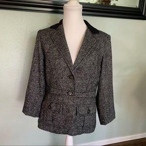 CAbi wool blend equestrian jacket #629